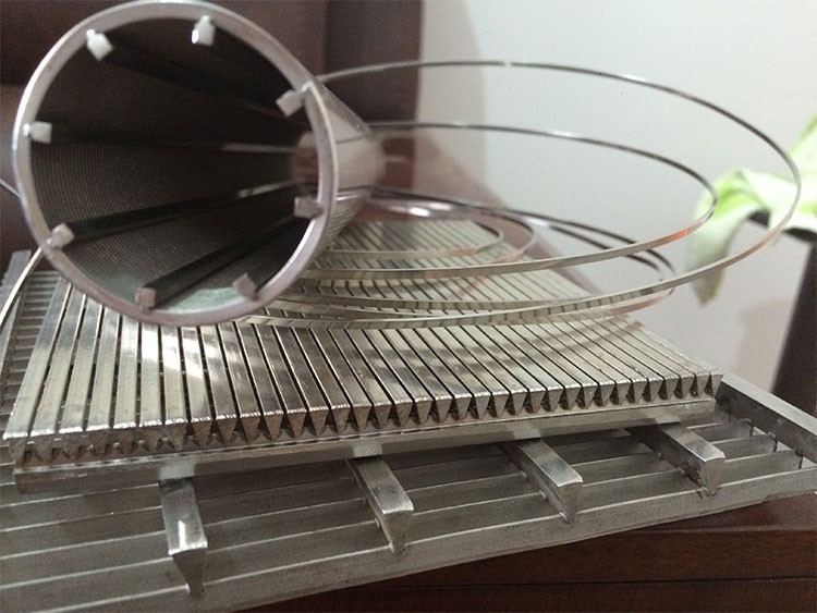High quality stainless steel water well johnson slotted screen filter tube